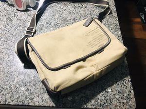 Men Genuine Coach Bag - Shoulder Strap style. for Sale in Calverton, MD