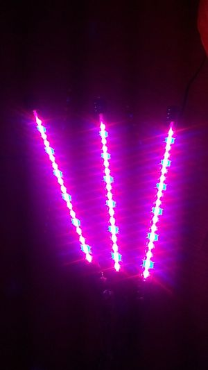 New 27W 3 head grow light. Full spectrum, strong clamp, dimmable, timer, USB w/ adapter for Sale in Mount Vernon, WA