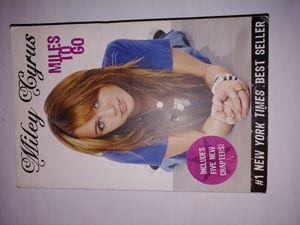Miley cyrus book for Sale in San Antonio, TX
