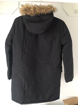 French Connection Faux Fur Hood Parka Jacket for Sale in Houston, TX
