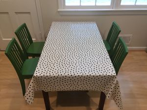 Pottery barn kids Catalina large activity craft table & 4 chairs for Sale in Rockville, MD