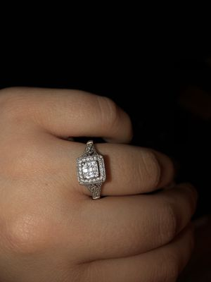 Wedding ring with two bands for Sale in Morrisville, NC
