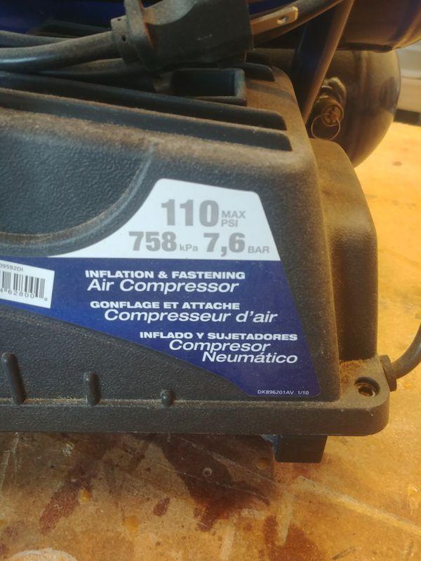 2 gal Compressor