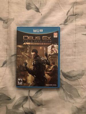 Deus Ex Wii U for Sale in Mission Viejo, CA