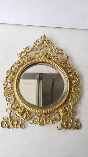 Antique brass mirror for Sale in Commerce City, CO