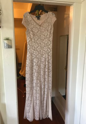 Pink/Silver Small Dress Prom or Bridesmaid for Sale in San Diego, CA