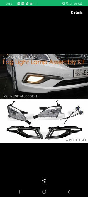 EOM Parts Fog Light Lamp Cover Connector 6EA Set for HYUNDAI 2015 - 2017 LF Sonata for Sale in Bowie, MD