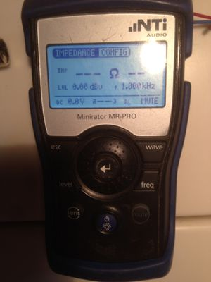 Audio test gear and more. Fluke NTI DPA Labgruppen Hardigg Denon for Sale in Los Angeles, CA