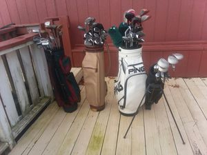 Lots of golf clubs buy some or buy them all!! for Sale in Houston, TX