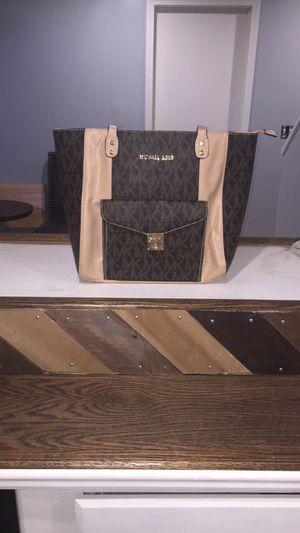 Michael Kors bag Large tote Mk monogram purse for Sale in Wichita, KS