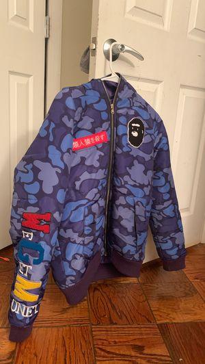 Purple and Blue BAPE coat for Sale in Alexandria, VA