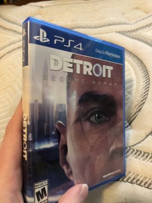 Detroit Become Human ps4 for Sale in Canyon Lake, CA