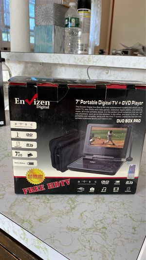 Portable DVD player + digital TV SEALED for Sale in Edison, NJ
