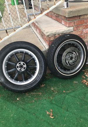 2 motorcycles bike tires in great shape for Sale in Cleveland, OH
