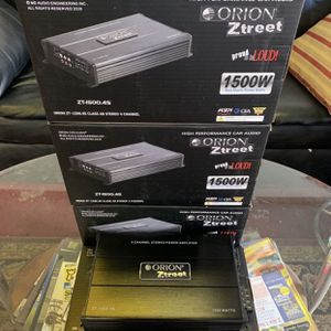 Orion Car Audio Car Stereo Amplifier . 1500 watt 4 Channel . New Years 5 Day Super Sale . $69 While They Last . New for Sale in Mesa, AZ