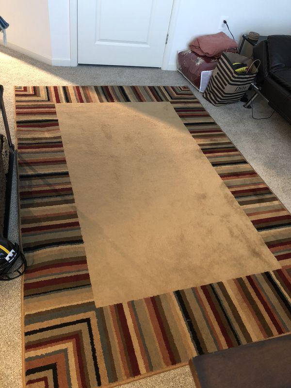 Striped Floor Rugs