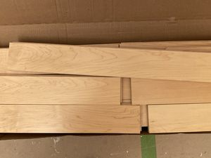 Solid hardwood flooring in maple 1 box 63 sq for Sale in Mill Valley, CA