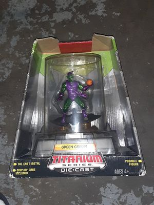The green goblin action figure collectible for Sale in Brooks, OR