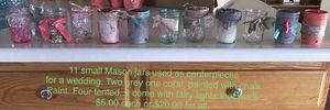 Small Mason jars for Sale in Pekin, IL