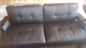 Leather Futon for Sale in Westborough, MA