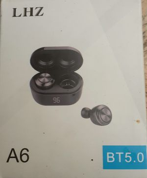 LHZ (A6), BLUETOOTH WIRELESS EARBUDS BT5.0 for Sale in Pensacola, FL