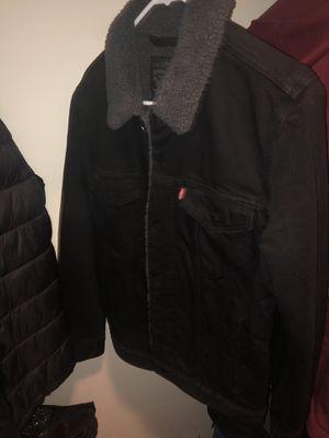 levis black denim jacket for Sale in Hyattsville, MD