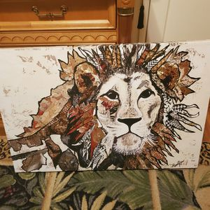 Lion Canvas Print for Sale in Downey, CA
