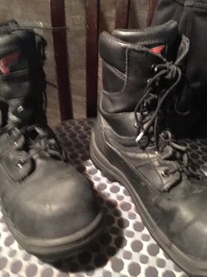 Red wing work boots read info on pic for Sale in Indianapolis, IN