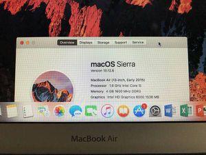 MacBook Air 13 inch 2015 for Sale in Chula Vista, CA