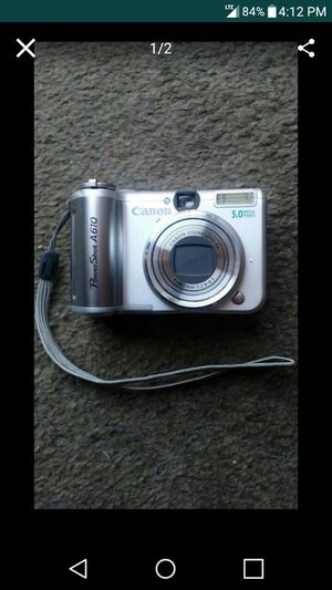 Canon PowerShot A610 Digital Camera for Sale in Nashville, TN