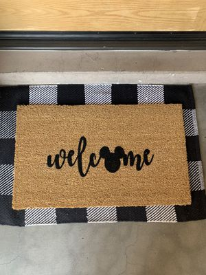 Disney welcome mat for Sale in Glendale, AZ