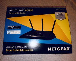 Netgear Nighthawk Smart WiFi Router AC1750 for Sale in Treasure Island, FL
