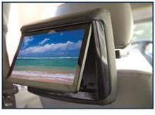 """Concept RSD-905M Chameleon 9"""" DVD/LCD with Miracast and 3 Color Covers Active Head Restraint"""