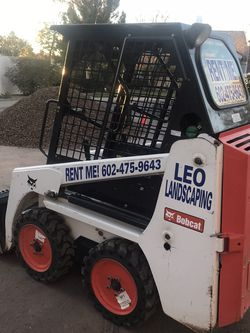 Se Renta Traila Y Bobcat {contact info removed} for Sale in Phoenix,  AZ