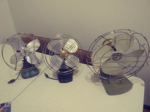 Vintage fans for Sale in Hannibal, MO