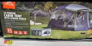 12 person screen porch tent with divider. Brand new for Sale in San Benito, TX
