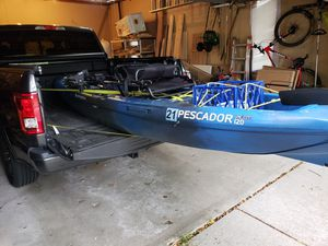 Pescador Pilot 12 Pedal Fishing Kayak + Extras for Sale in Apple Valley, MN