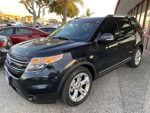 2011 FORD EXPLORER LIMITED $1,500 DOWN PAYMENT OK BAD CREDIT OK REPOS OK NO CREDIT OK 1ST TIME BUYERS OK WELCOME for Sale in Garden Grove, CA