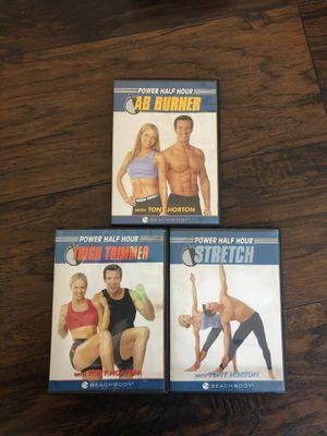 Beach body power half hour hiit workout DVD set for Sale in San Diego, CA