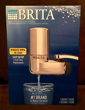 Brita® Faucet Filtration System in Chrome for Sale in Gainesville, FL