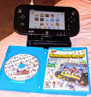 NINTENDO Wii U WITH 7 GAMES 100%💥💥 for Sale in Escondido, CA