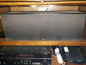 Polk audio big center speaker for Sale in Bakersfield, CA
