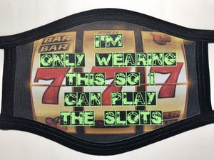 Custom printed face masks for gamblers slot machines for Sale in Tucson, AZ