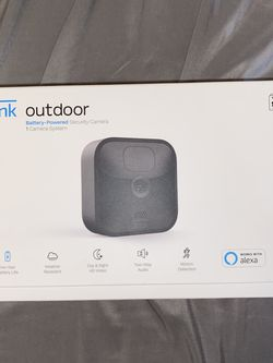 Blink Outdoor Camera - Black Battery Powered Security System for Sale in Gainesville,  FL