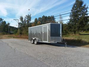 Quality cargo trailers 7 x 16 for Sale in Chelmsford, MA