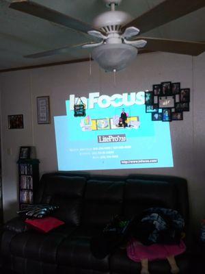 Infocus 720 projector for Sale in Erwin, TN
