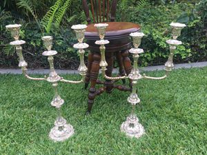 Sheffield Candelabra 18th & 19th Century Dies for Sale in Whittier, CA