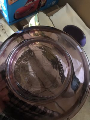 Purple visions Pyrex serving bowl for Sale in Taylors, SC