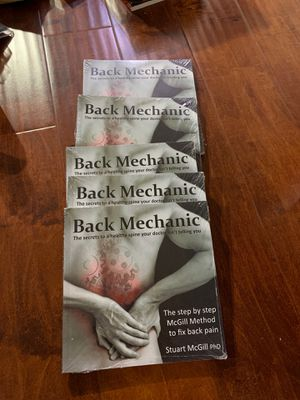Back Mechanic by Dr. Stuart McGill price for 1 for Sale in Walnut, CA