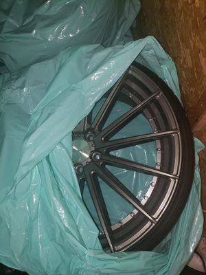 22 inch staggered wheels for Sale in San Diego, CA